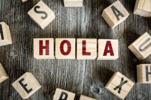 Hola in spanish