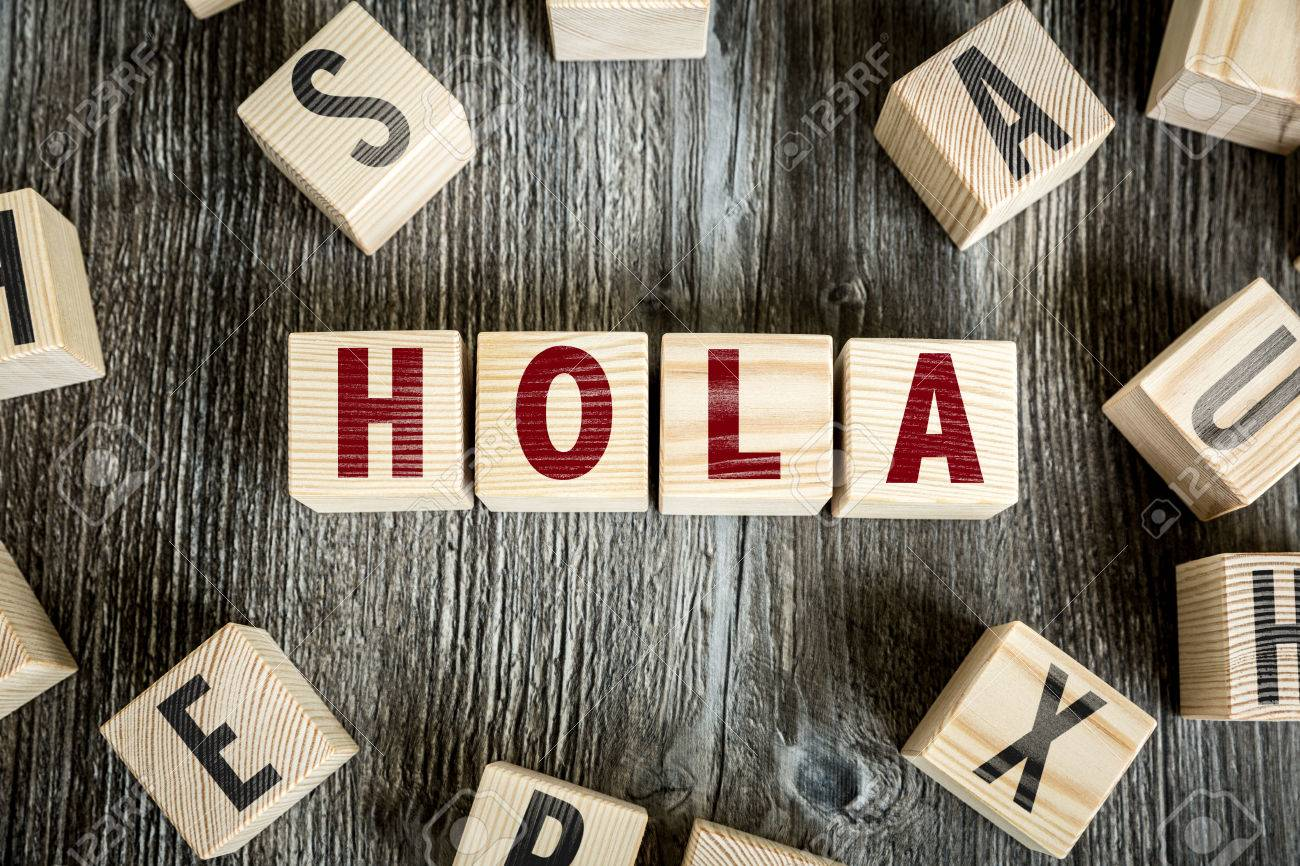 Hola in spanish